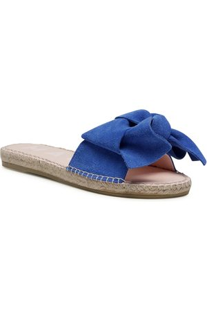 MANEBI Sandals With Bow M 3.5 J0 Electric Blue
