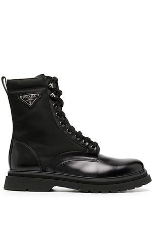 Prada Knöchelhohe Hiking-Boots