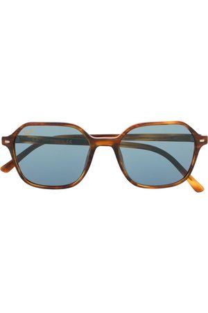 Ray-Ban Eckige 'John' Sonnenbrille