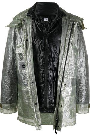 C.P. Company Herren Jacken - Jacke mit Metallic-Optik