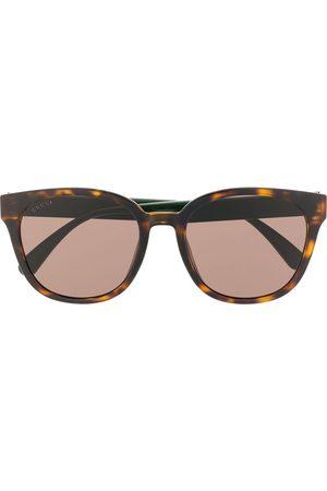 Gucci Eyewear Sonnenbrille mit eckigem Gestell