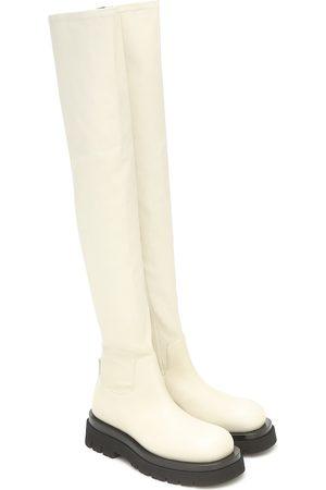 Bottega Veneta Overknee-Stiefel aus Leder