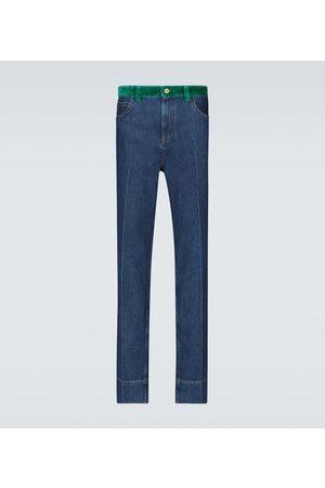 WALES BONNER Straight Jeans Dub Contrast