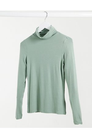 New Look – Rollkragenpullover in Hellgrün