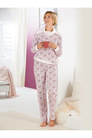 Avena Damen Schlafanzüge - Damen Pyjama gemustert