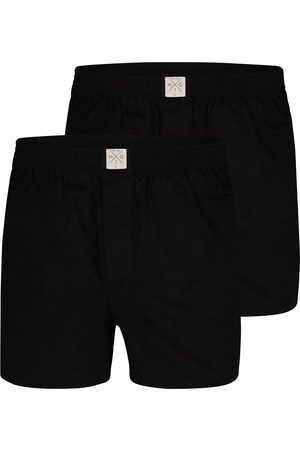 MG-1 Web-Boxershorts ' 2-Pack Single Colour Black