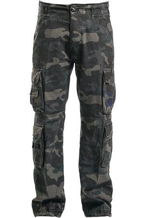 Brandit Herren Cargohosen - Pure Vintage Trousers Cargohose darkcamo