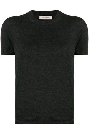 GENTRYPORTOFINO Gestricktes T-Shirt
