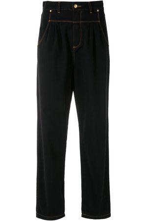 AMAPÔ Damen Straight - Gerade Jeans