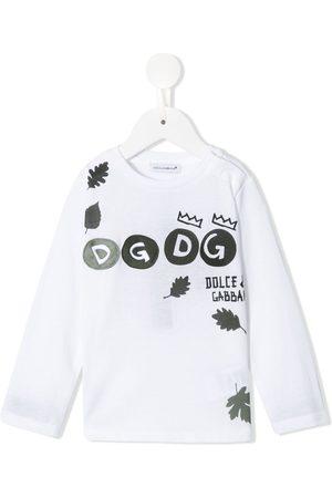 Dolce & Gabbana T-Shirt mit Logo-Print