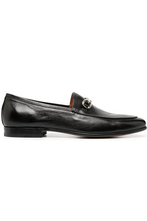 santoni Herren Halbschuhe - Loafer mit Stegverzierung