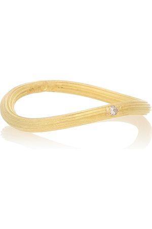 Orit Elhanati Ring String aus 18kt Gelbgold mit Diamanten