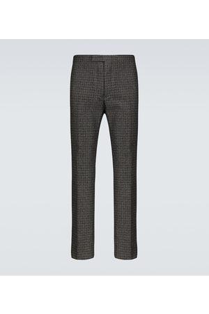 RAF SIMONS Slim-Fit-Hose aus einem Wollgemisch