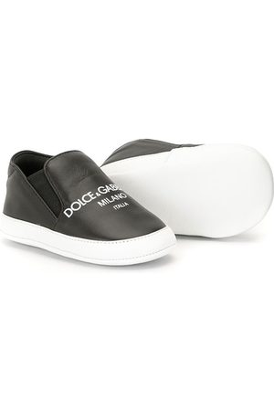 Dolce & Gabbana Slip-On-Sneakers mit Logo