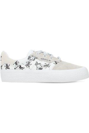 adidas Sneakers Aus Canvas Und Leder