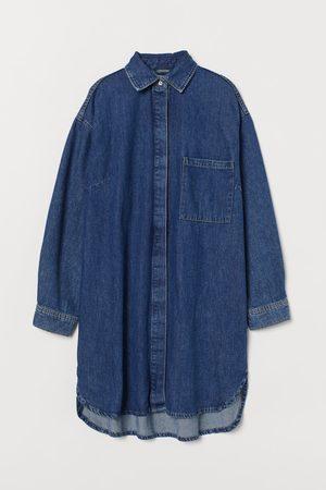 H&M Blusenkleid aus Denim
