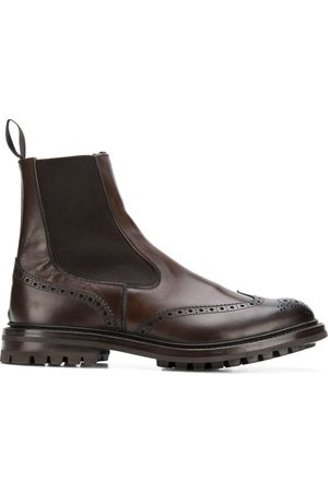 TRICKERS Chelsea-Boots mit Budapestermuster