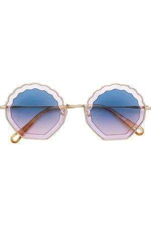 Chloé Eyewear Sonnenbrille im Muschel-Design