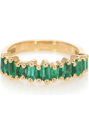 Suzanne Kalan Ring Fireworks aus 18kt Gelbgold mit Smaragden