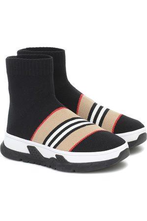 Burberry Sneakers Icon Stripe aus Strick