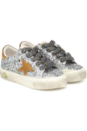 Golden Goose Sneakers May mit Glitter