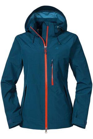 Schöffel GORE-TEX® Outdoorjacke, atmungsaktiv, für Damen, dunkelblau, 40