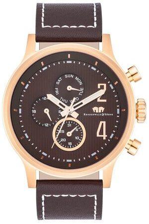 Rhodenwald & Söhne Armband-Uhr roségold Echtleder