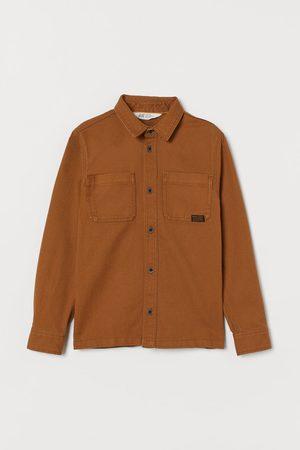 H&M Utility-Hemd aus Baumwolle