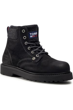 Tommy Hilfiger Lace Up Mens Boot EM0EM00534 Black BDS