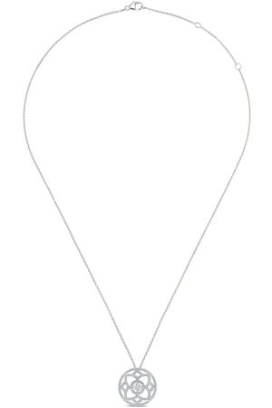 De Beers 18kt Weißgoldhalskette mit Diamanten