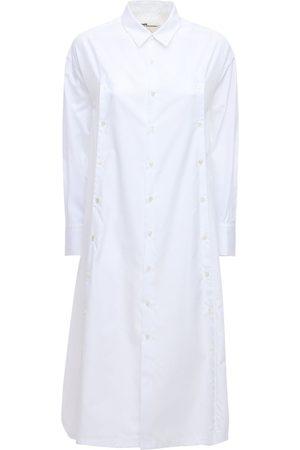 NOIR KEI NINOMIYA Hemdkleid Aus Baumwollpopeline