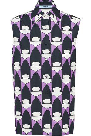 Prada Hemd mit geometrischem Print