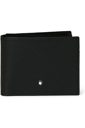 Mont Blanc MST Soft Grain Wallet 11cc with View Pocket Black