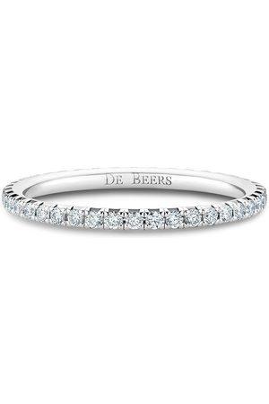 De Beers 18kt 'Eternity' Weißgoldring mit Diamanten