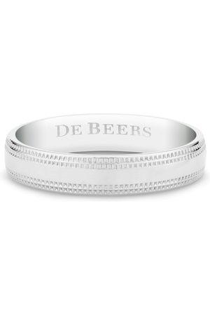 De Beers Ring mit graviertem Logo