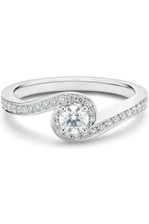 De Beers Platinring mit Diamanten