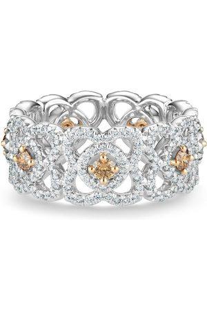 De Beers Damen Ringe - 18kt Enchanted Lotus Weißgoldring mit Diamanten