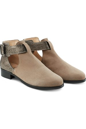 LaShoe Boot mit Cut-Outs Taupe 36
