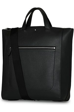 Mont Blanc Herren Shopper - MST Soft Grain Tote with Zip Black