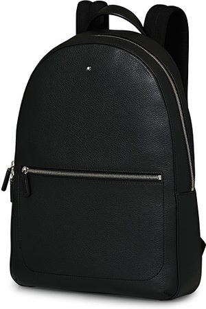 Mont Blanc Herren Rucksäcke - MST Soft Grain Slim Backpack Black