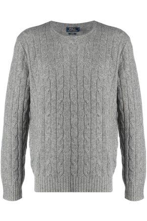 Polo Ralph Lauren Herren Strickpullover - Pullover mit Zopfmuster