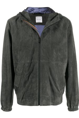 Paul Smith Suede hooded jacket