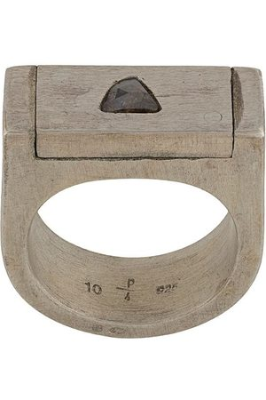 PARTS OF FOUR Plate' Ring, 9mm