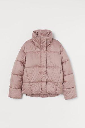 H&M Puffer Jacket mit Stehkragen