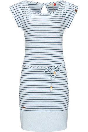 Ragwear Sommerkleid »Soho Stripes« leichtes Jersey-Kleid mit angesagtem Streifenmuster, leichtes Baumwoll-Kleid mit angesagtem Streifenmuster