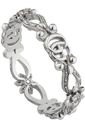 Gucci 18kt Weißgoldring mit Diamanten