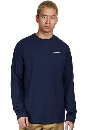 Patagonia Herren T-Shirts - Long-Sleeved P-6 Logo Responsibili-Tee