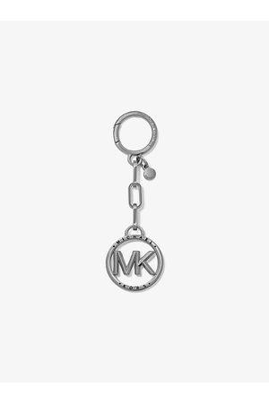 Michael Kors Damen Halsketten - MK Anhänger Mit Logo - Sch Rhodium - Michael Kors