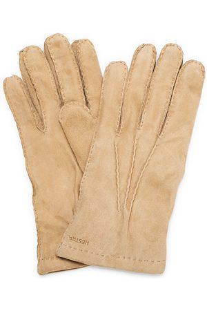 Hestra Herren Handschuhe - Arthur Wool Lined Suede Glove Camel