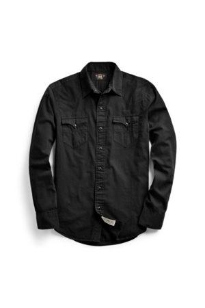 RRL Slim-Fit-Westernhemd aus Twill